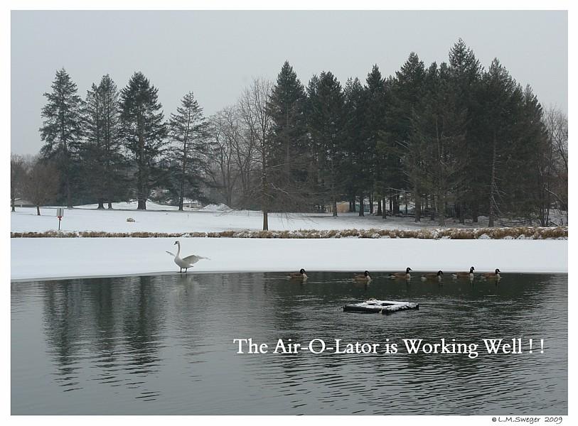Swan Pond Air-O-Lator