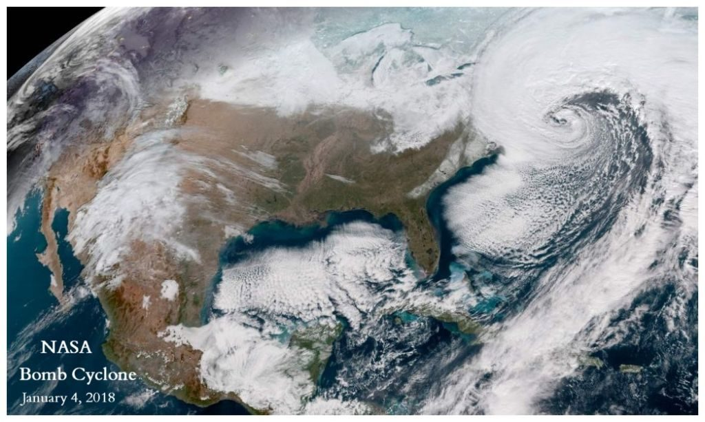 2018 Bomb Cyclone