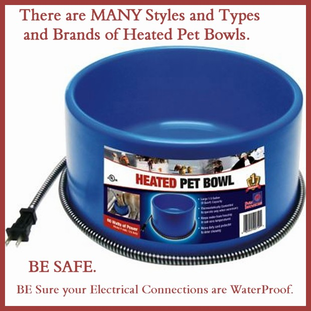 Heated Water Bowl