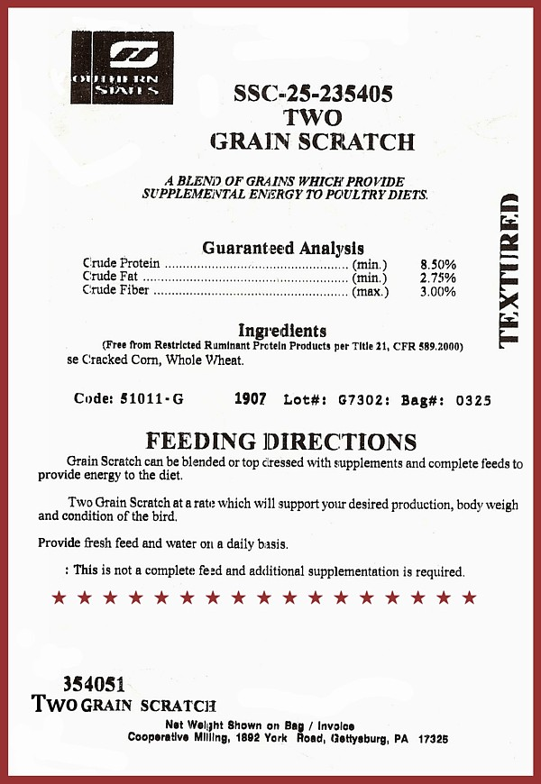 Two Grain Scratch