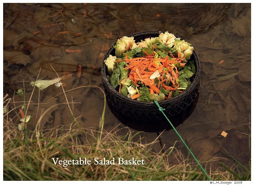 Swan Vegetable Basket