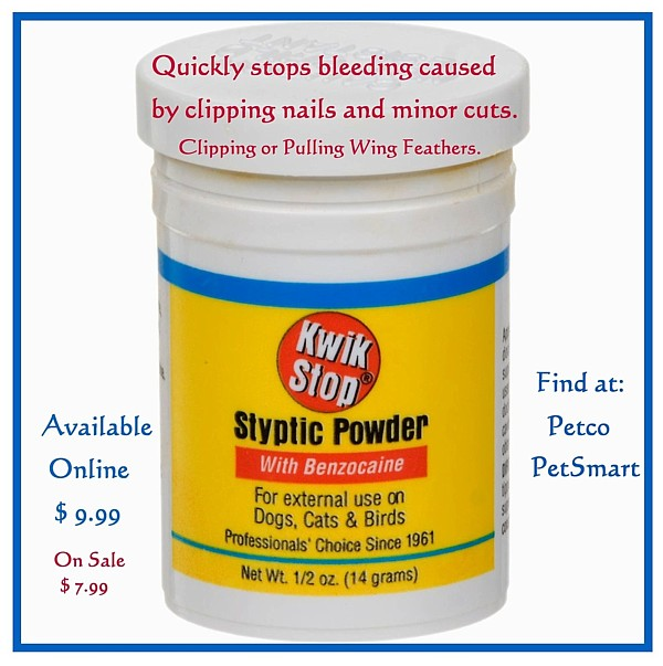 Kwik Stop Styptic Powder