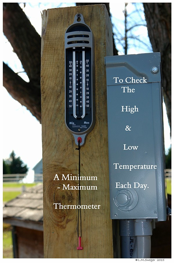 High-Low Thermometer
