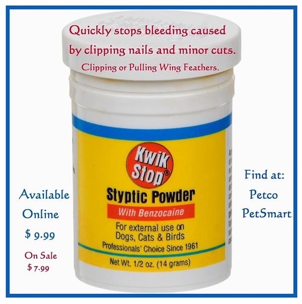 SWAN Kwik Stop Styptic Powder