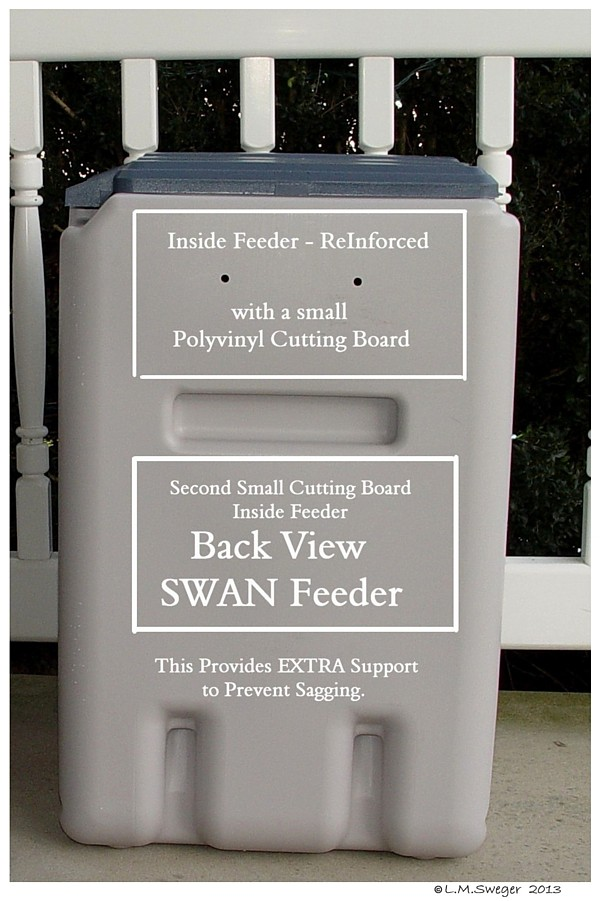Support For Swan Feeder