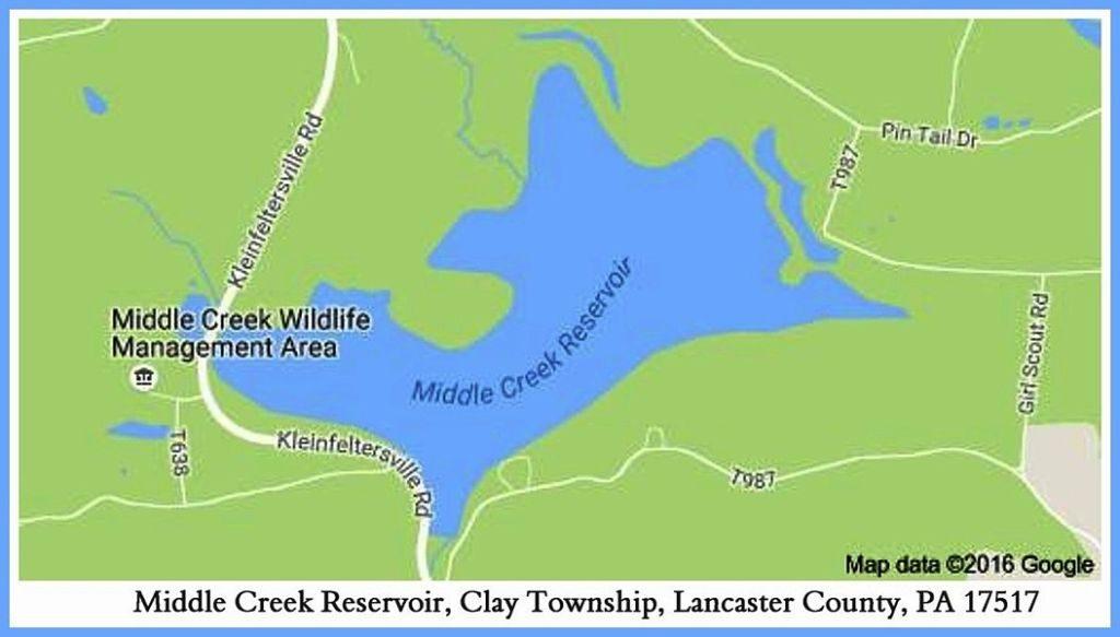 PAGC Middle Creek Reservoir-Lake