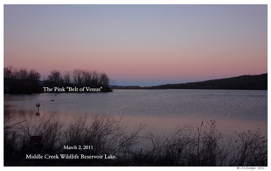 Middle Creek WMA SunSet