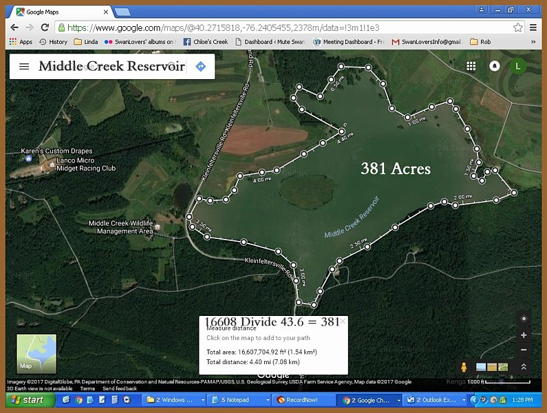 Middle Creek Impoundment