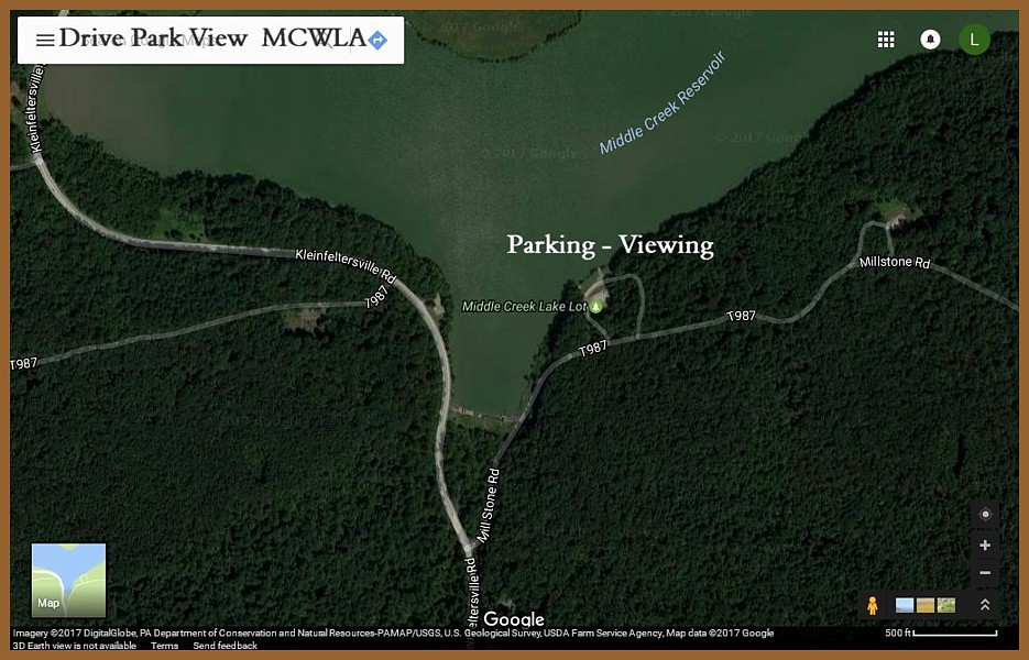 Tundra Swans MCWMA MAP
