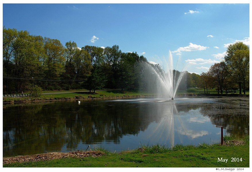 Large Fountain Pond