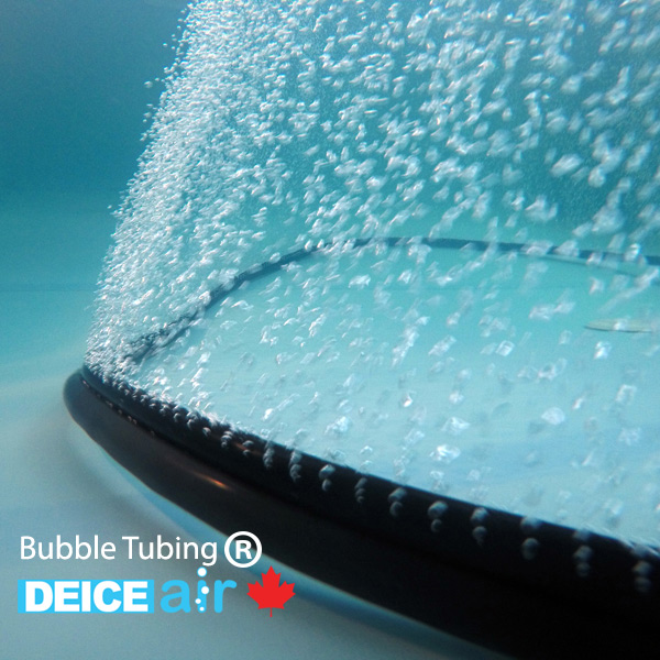 DeIcing with Bubble Hose