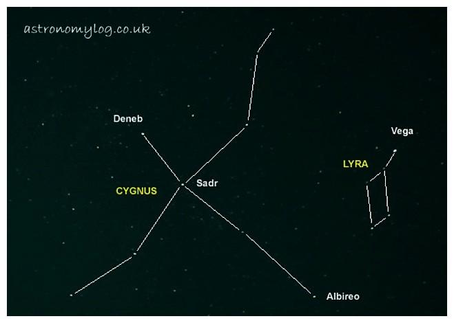 Constellation Cygnus - The Swan
